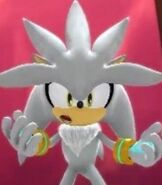 Silver the Hedgehog in Sonic Generations