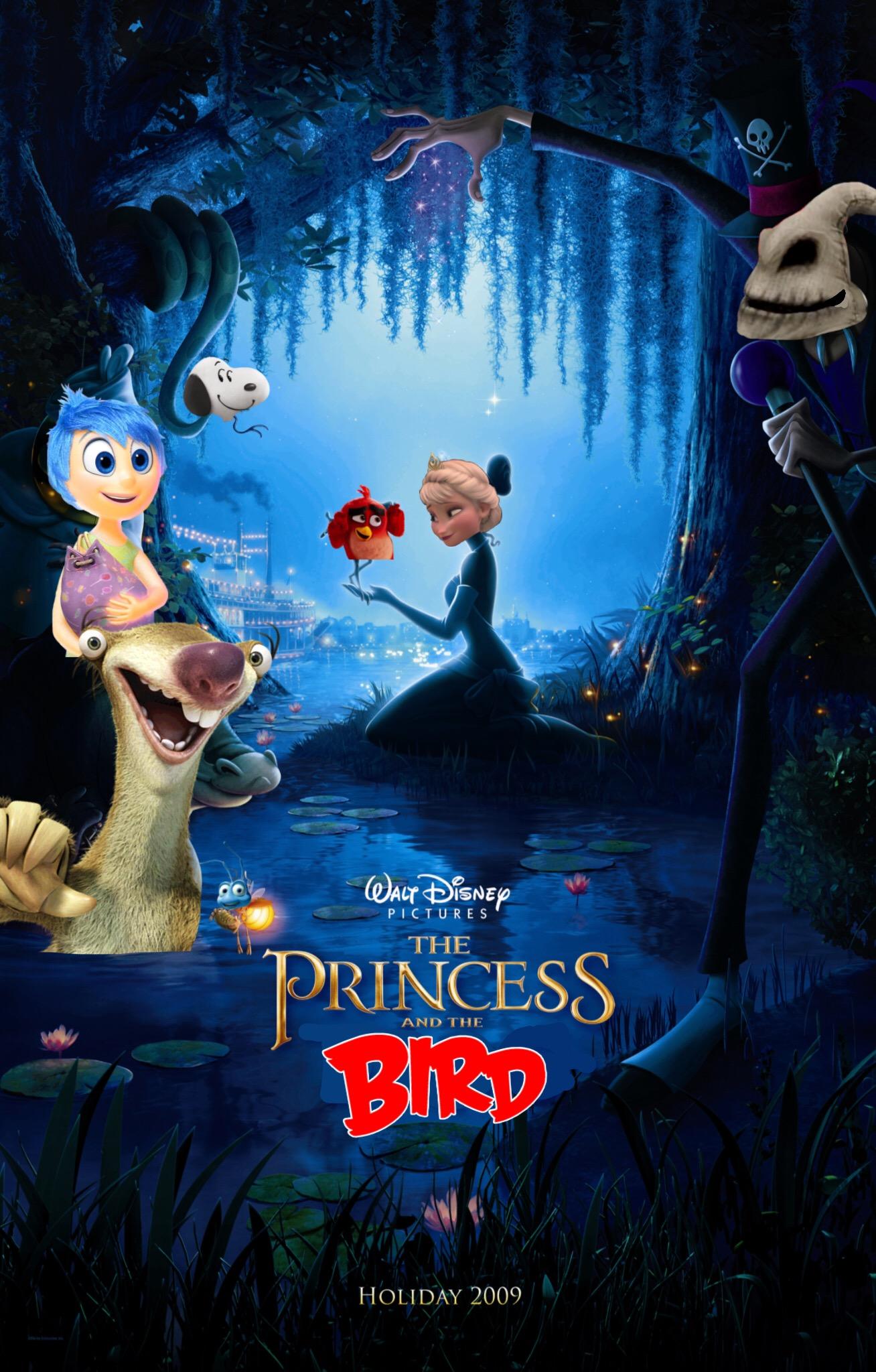 The Princess and the Bird (Justin Quintanilla)