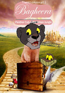 Bagheera (Babe) 2 Panther in the Urban Jungle Poster