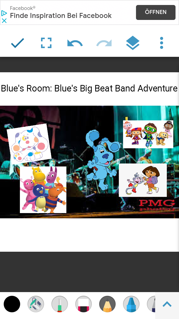 Blue's Room: Blue's Big Beat Band Adventure