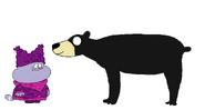 Chowder meets Black Bear