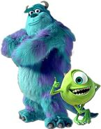 Mike Wazowski and Sulley