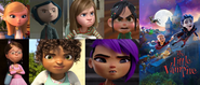 Penny, Coraline, Riley, Vanellope, Margo, Tip and Mai hates The Little Vampire 3D