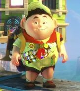 Russell in Kinect Rush- A Disney Pixar Adventure