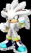 Silver the Hedgehog transparent