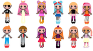 The New Lalaloopsy Characters' Looks 2