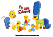 The Simpsons Family mlp