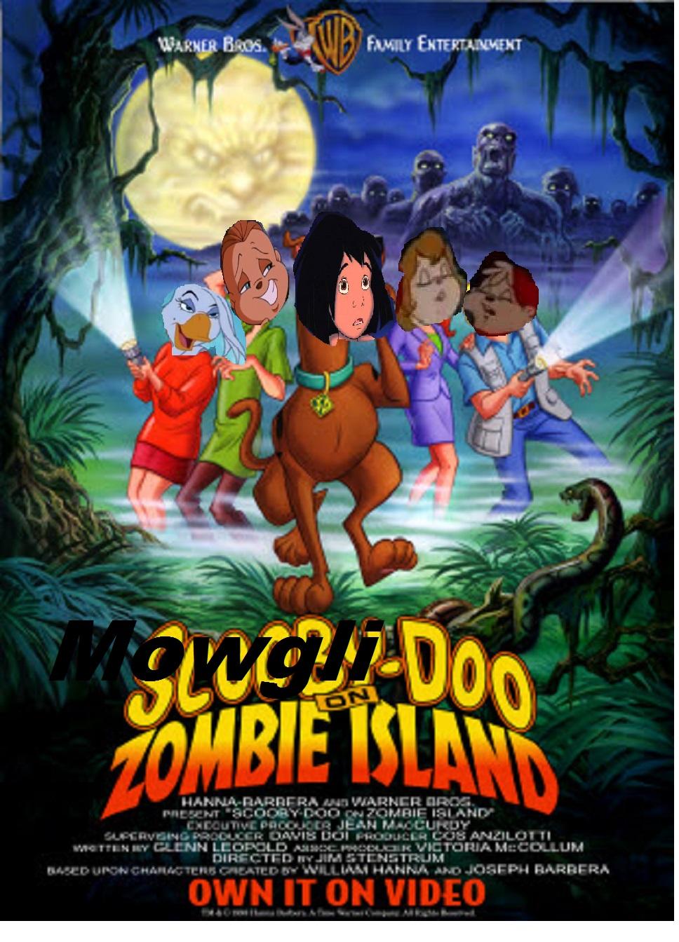 Mowgli Doo on Zombie Island