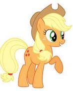Applejack pose