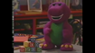 Barney Doll in The Alphabet Zoo
