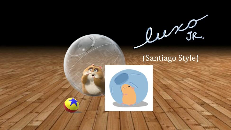 Luxo Jr. (Santiago Style)