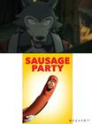 Legoshi hates Sausage Party