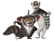 Maurice and King Julien