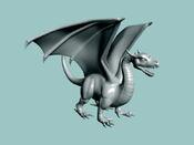 Model European Dragon