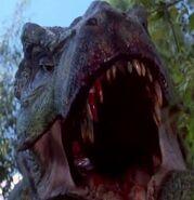 Rexy in Jurassic Park 3
