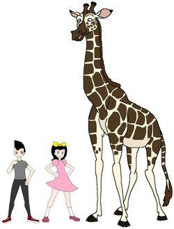 Riley and Elycia meets Nubian Giraffe.jpg