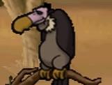 Vulture in hugo lek och lar 5 savannens hjaltar