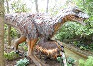 Columbus Zoo Utahraptor