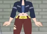 Dc super hero girls 2019 kara crop top and hips 2