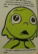 Gum Girl crying
