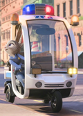 Judy meets nick in her cart