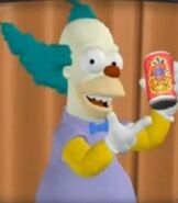 Krusty the Clown in The Simpsons Hit & Run