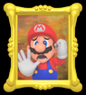 Mario trapped in the painting