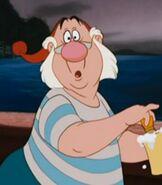 Mr. Smee in Peter Pan