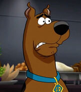 Scooby Doo in Scooby-Doo! and WWE Curse of the Speed Demon