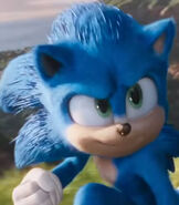Sonic The Hedgehog in Sonic The Hedgehog (2020)