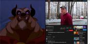 The Beast vs Psycho Dad
