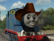 Thomas wearing cowboy hat 7