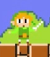 Toon Link in Super Mario Maker