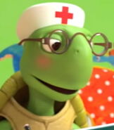 Tortoise in The Doctor Checkup Song