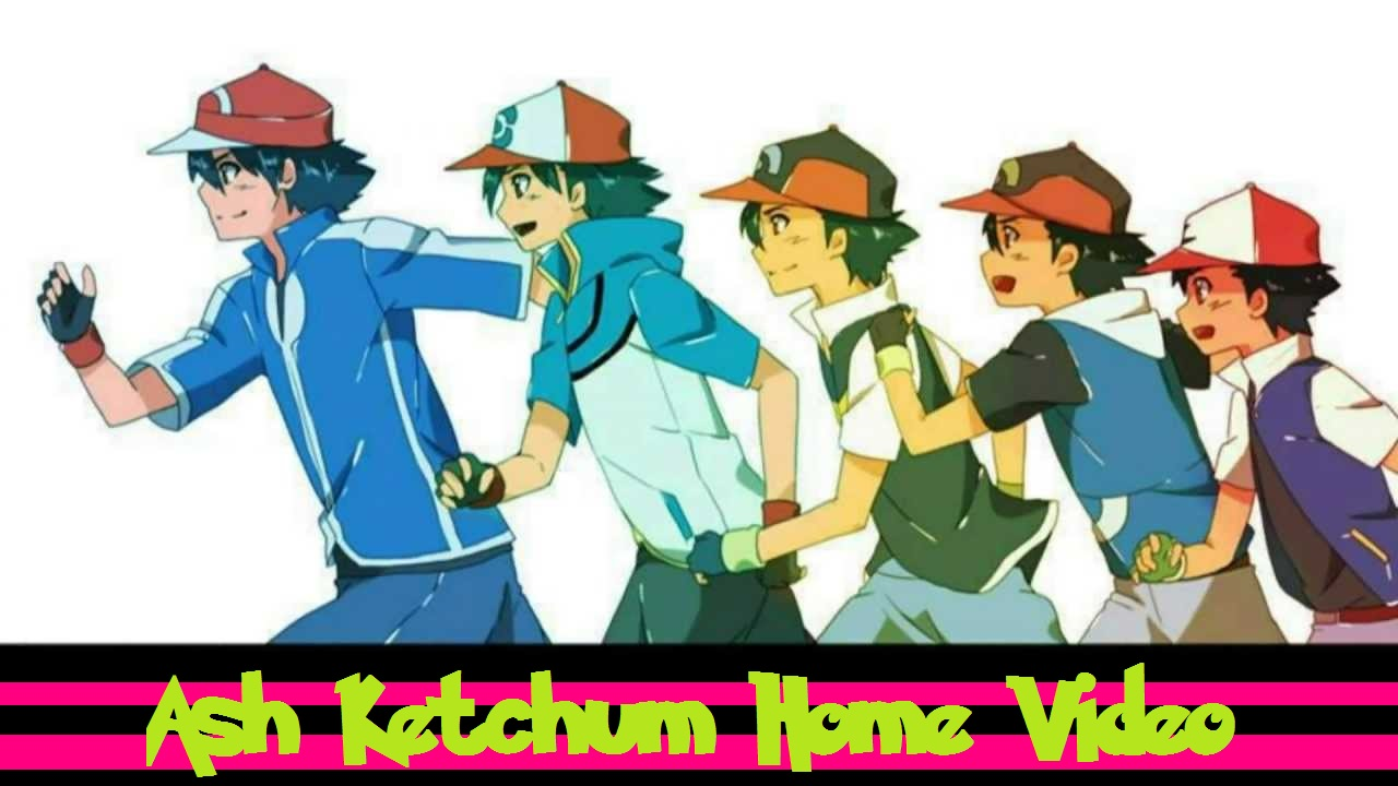 Ash Ketchum Home Video