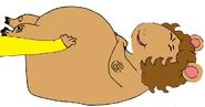 Arthur Read Tickling the Hippo Jane
