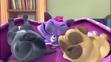 Bingo Rolly and Hissy sleeping
