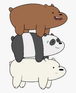 Grizz, Panda and Ice Bear (V2)