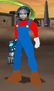 Juno as Mario