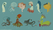 Mermaid Concepts 6 by DoodleBuggy