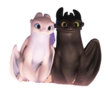 Toothless and Light Fury (V2)