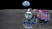 Ashima on the moon