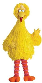 Big Bird (Sesame Street) as Mr Stork.jpg