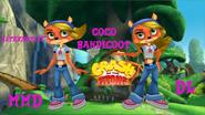 Crash of The Titans Coco Bandicoot model