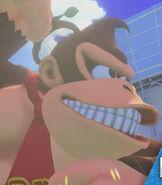 Donkey Kong in Mario Tennis- Ultra Smash