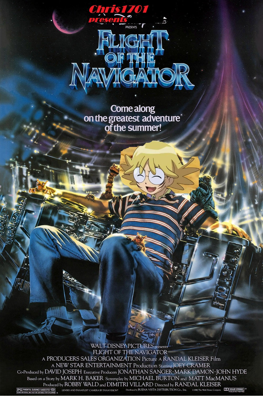Flight of the Navigator (Chris1701 Human Style)