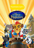 Kion, Bunga and Beshte The Three Musketeers Poster