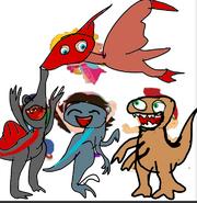 Little Dinosteins