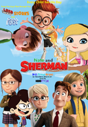 Nate and Sherman- Best Friend Origins Poster 2