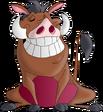 Pumbaa flashes a grin ps d by ldejruff